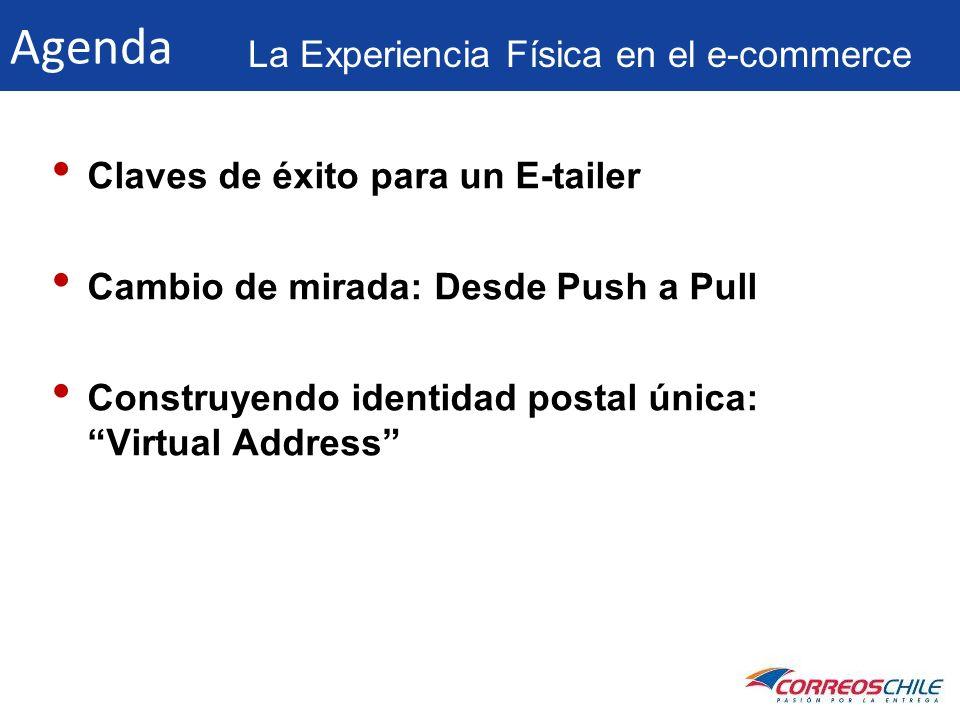 Agenda La Experiencia Física en el e-commerce