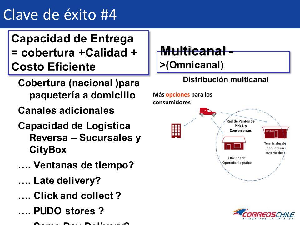 Clave de éxito #4 Multicanal ->(Omnicanal)