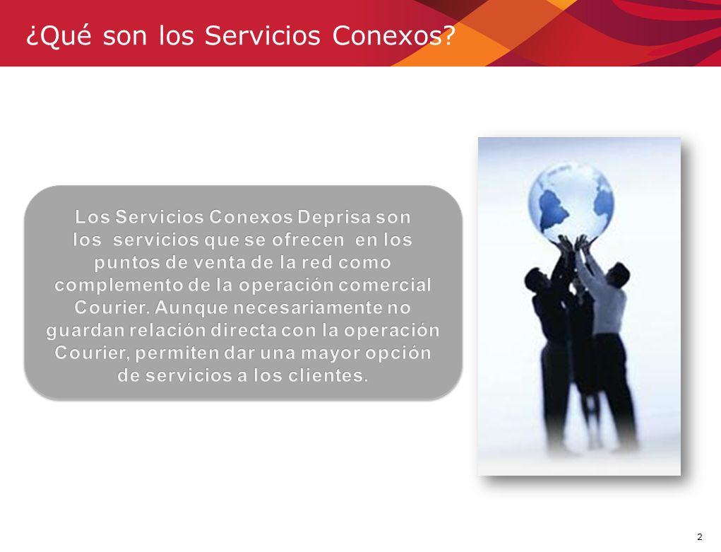 ¿Qué son los Servicios Conexos