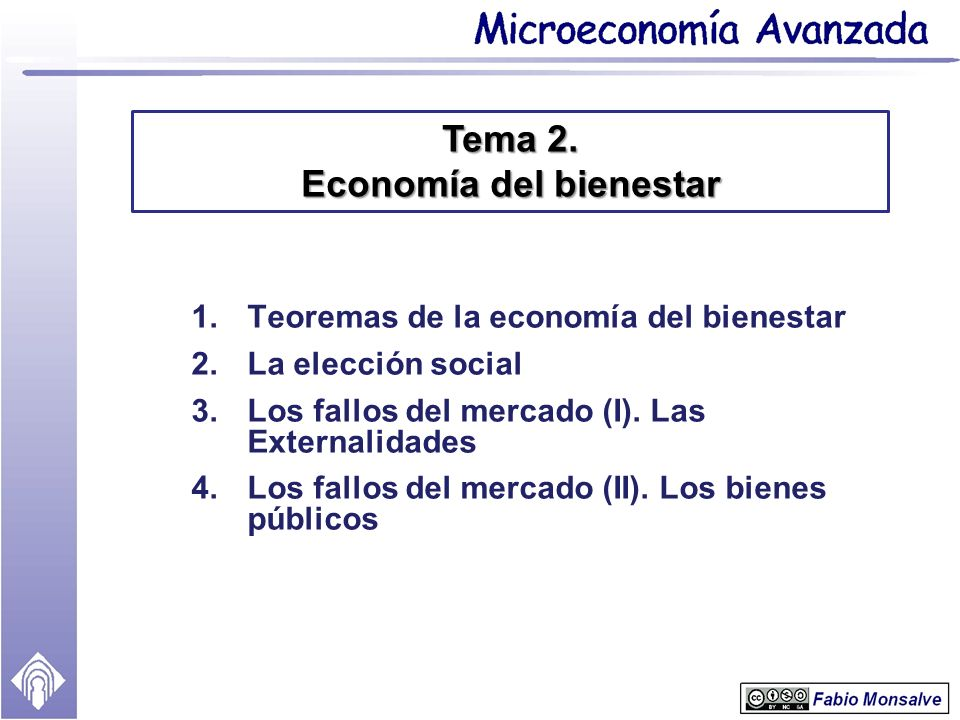 Tema 2. Economía del bienestar