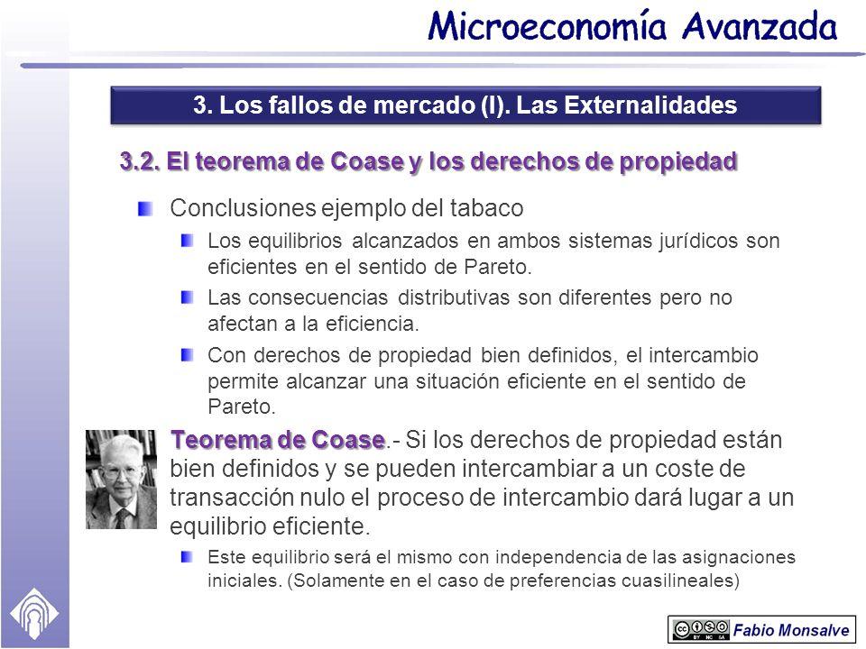 3.2. El teorema de Coase y los derechos de propiedad