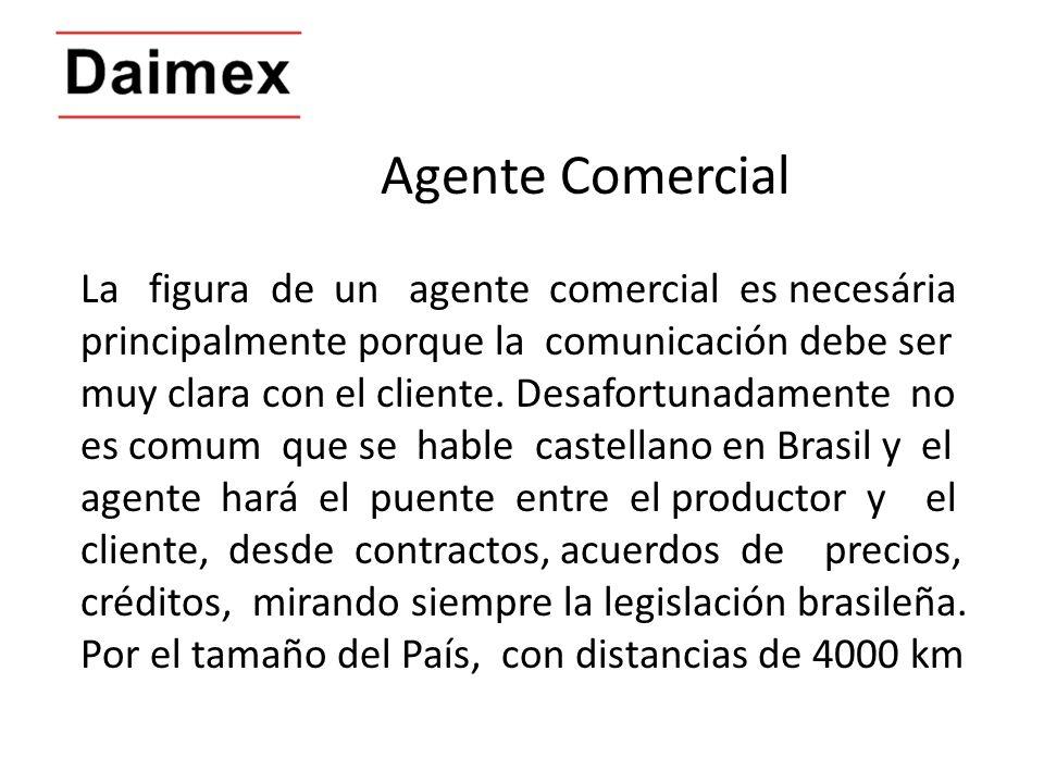 Agente Comercial La figura de un agente comercial es necesária
