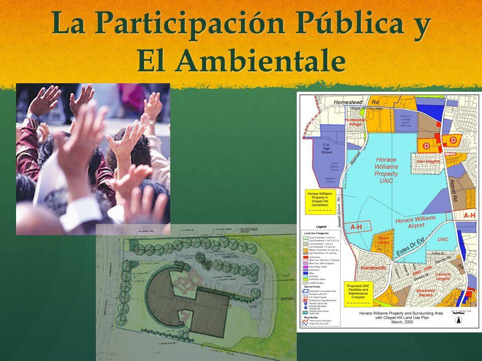 La Participación Pública y El Ambientale