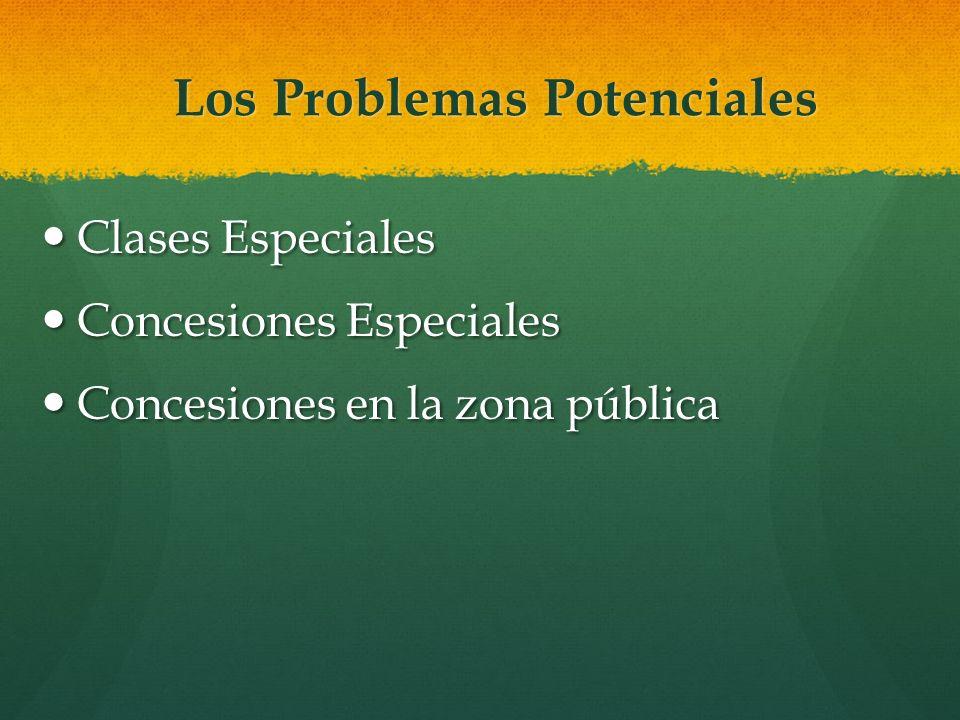 Los Problemas Potenciales