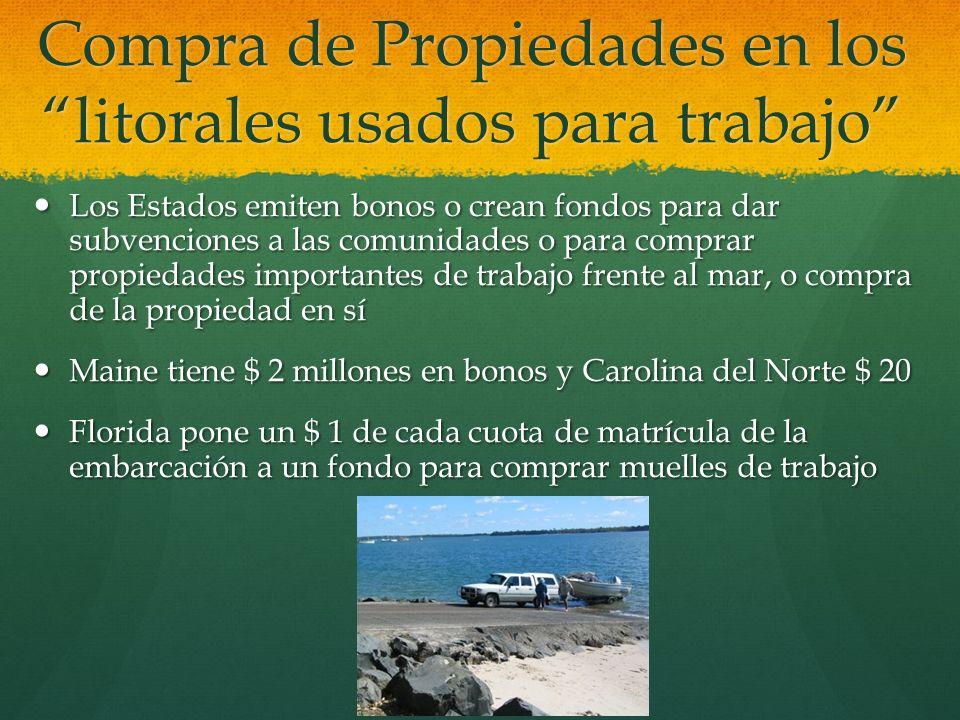Compra de Propiedades en los litorales usados para trabajo