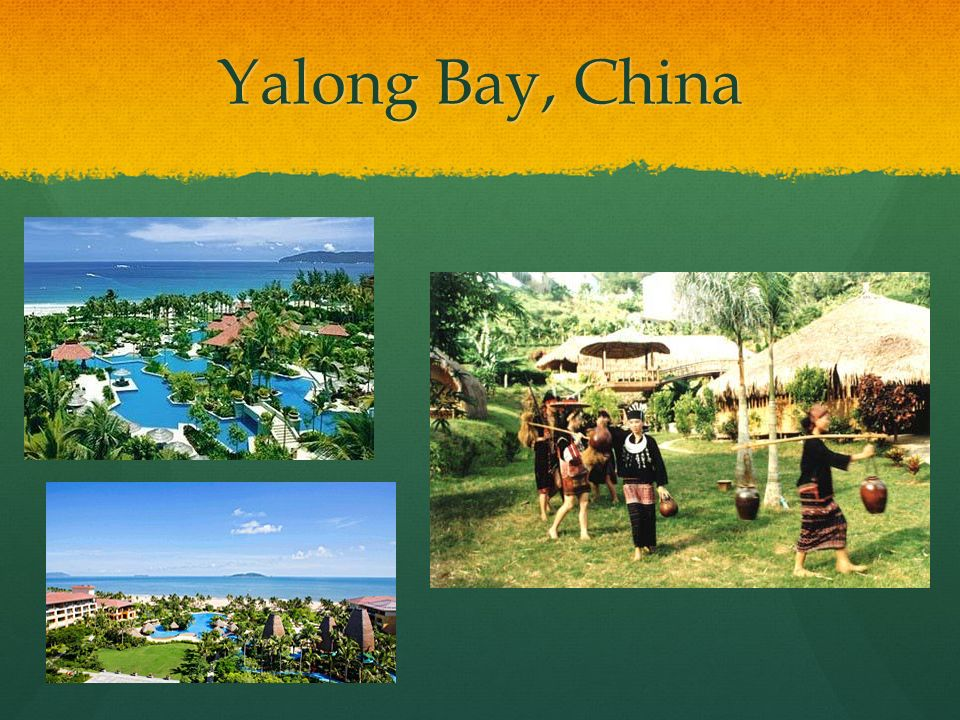 Yalong Bay, China