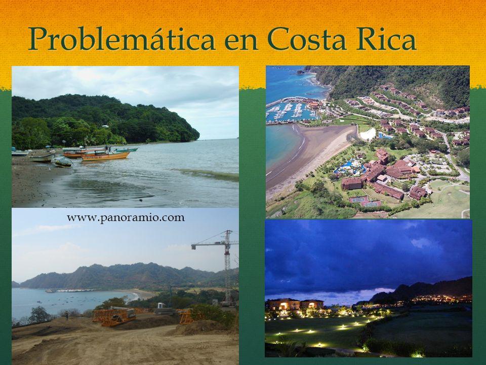 Problemática en Costa Rica