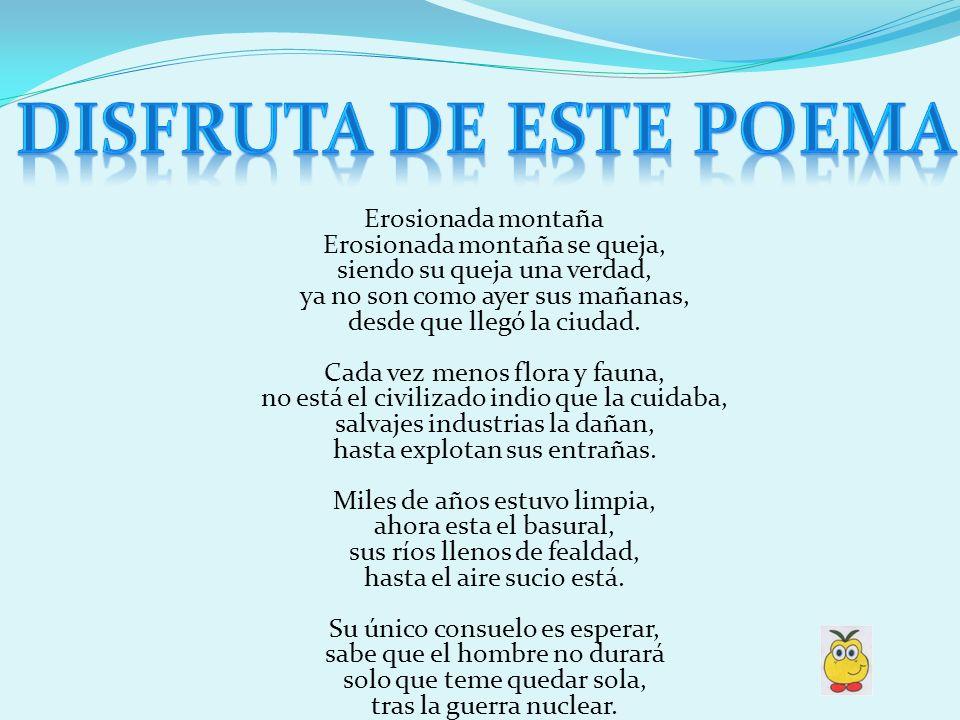 Disfruta de este poema