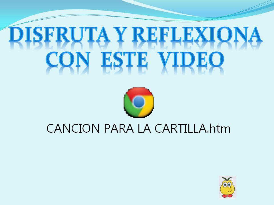 DISFRUTA Y REFLExIONA Con ESTE VIDEO