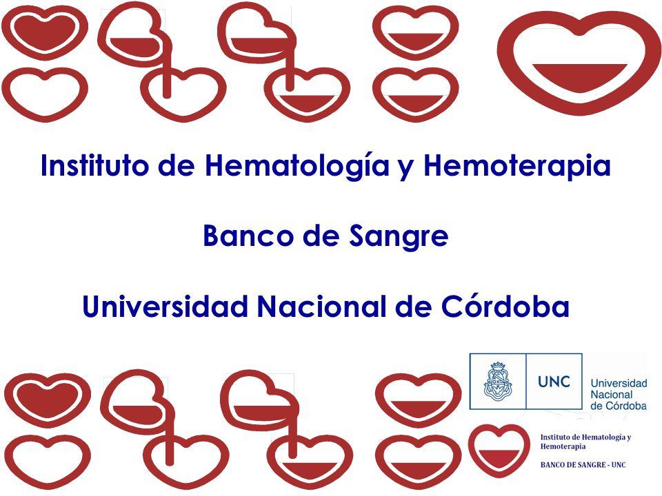 Instituto de Hematología y Hemoterapia Universidad Nacional de Córdoba