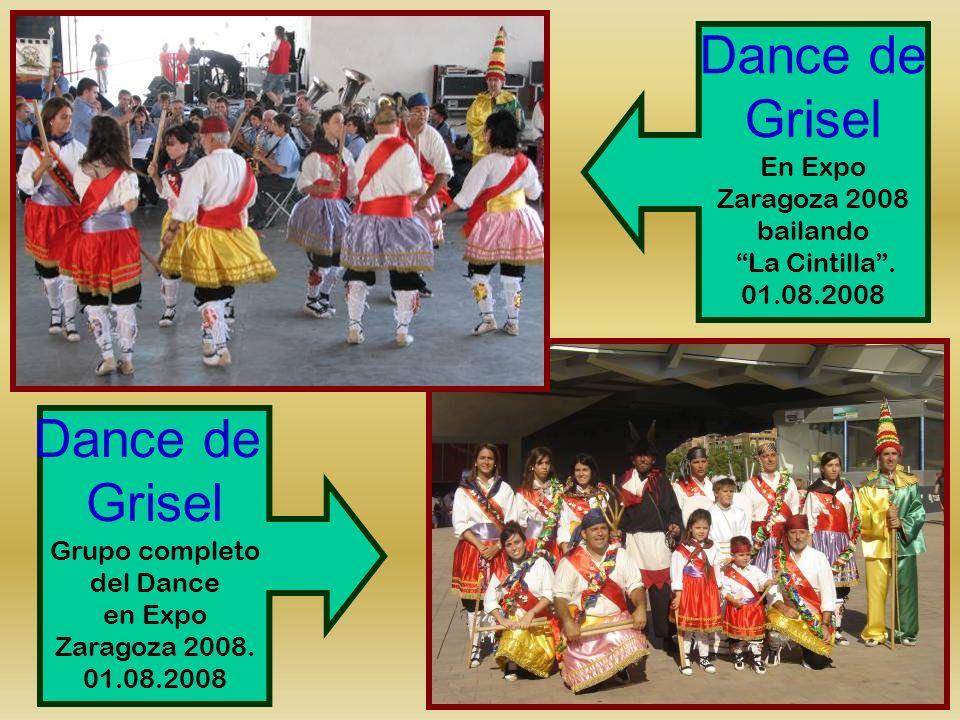 Grisel Dance de Grisel En Expo Zaragoza 2008 bailando La Cintilla .