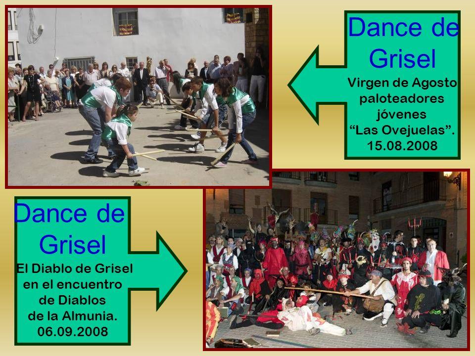 Grisel Dance de Grisel Virgen de Agosto paloteadores jóvenes