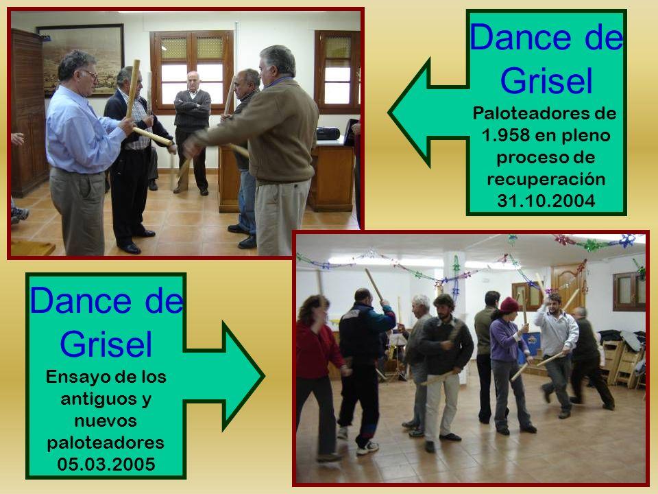 Dance de Grisel Dance de Grisel Paloteadores de 1.958 en pleno