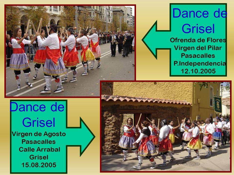 Grisel Dance de Grisel Dance de Ofrenda de Flores Virgen del Pilar
