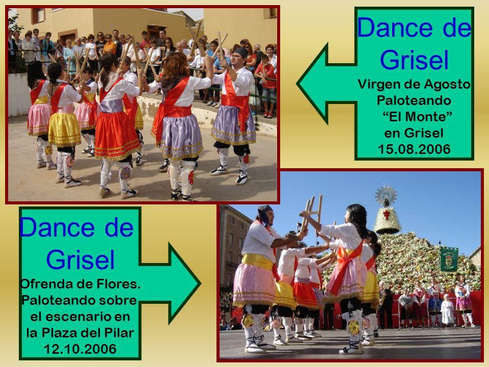 Dance de Grisel Dance de Grisel Virgen de Agosto Paloteando El Monte