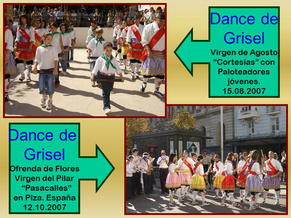 Dance de Grisel Dance de Grisel Virgen de Agosto Cortesías con
