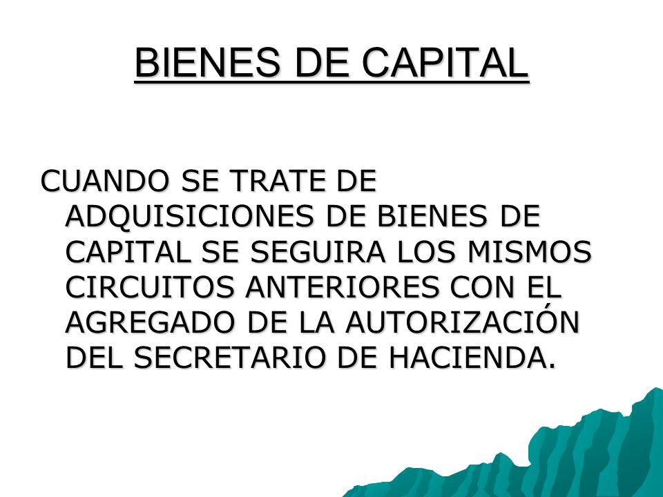 BIENES DE CAPITAL
