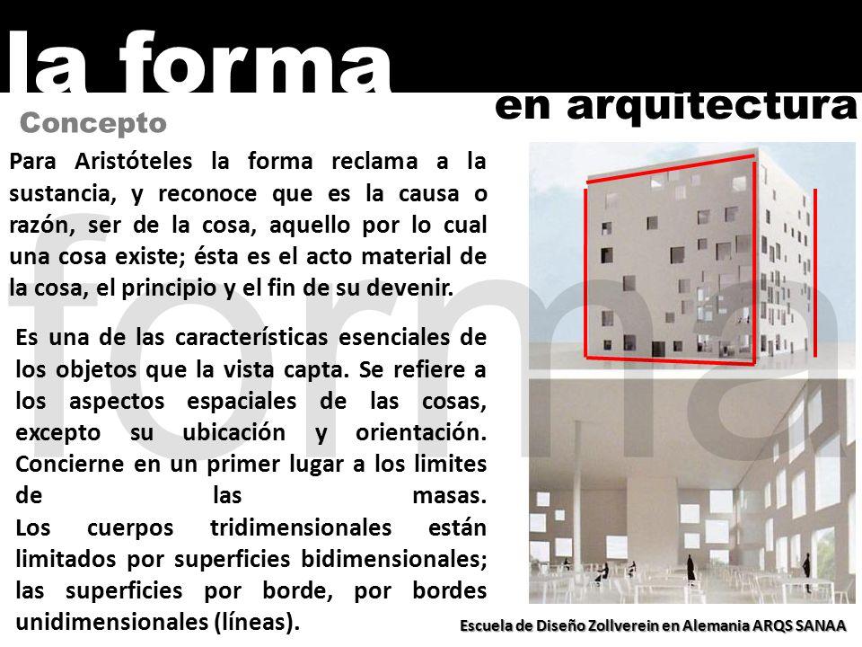 Forma la forma en arquitectura principios b sicos o for Que es arquitectura definicion