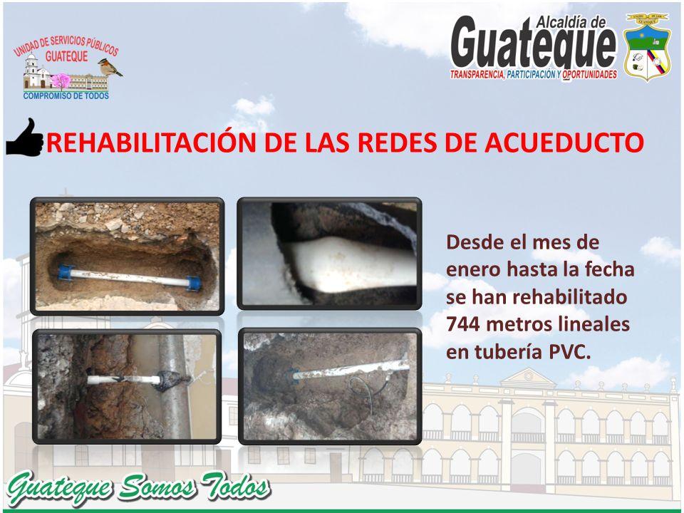 REHABILITACIÓN DE LAS REDES DE ACUEDUCTO