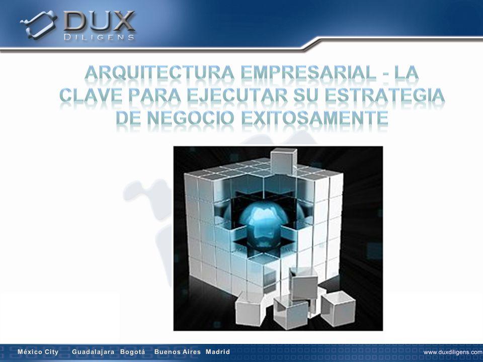 Arquitectura Empresarial - La Clave para Ejecutar su Estrategia de Negocio Exitosamente