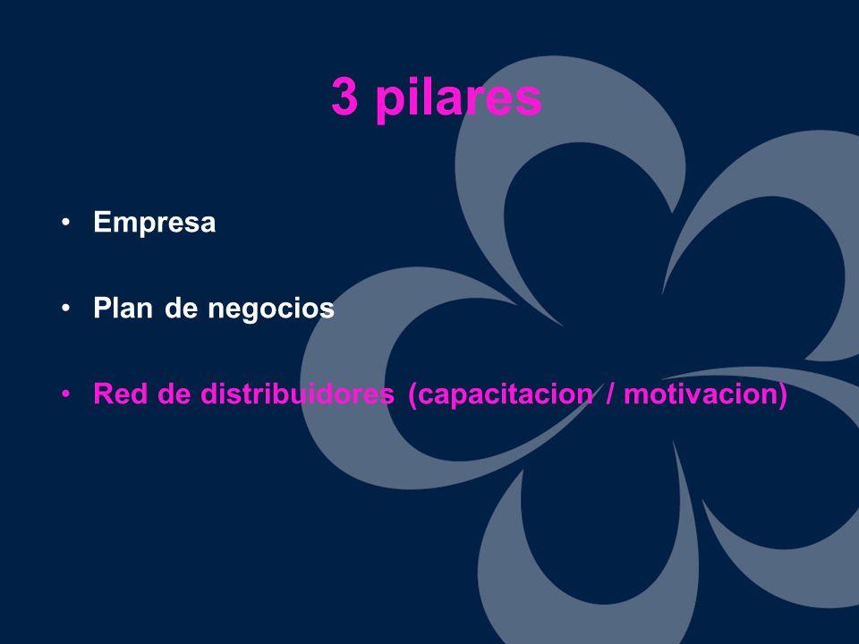 3 pilares Empresa Plan de negocios