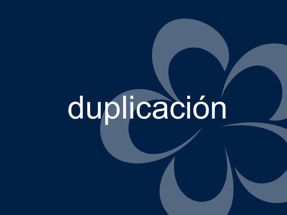 duplicación