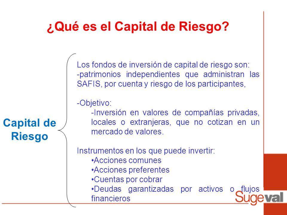 ¿Qué es el Capital de Riesgo