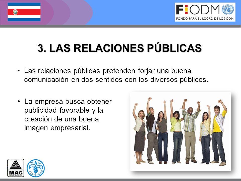 3. LAS RELACIONES PÚBLICAS