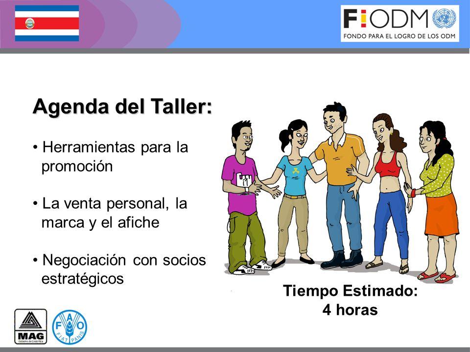 Agenda del Taller: Herramientas para la promoción