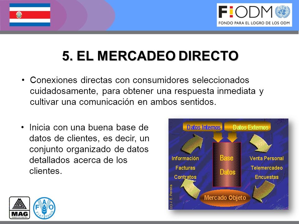 5. EL MERCADEO DIRECTO