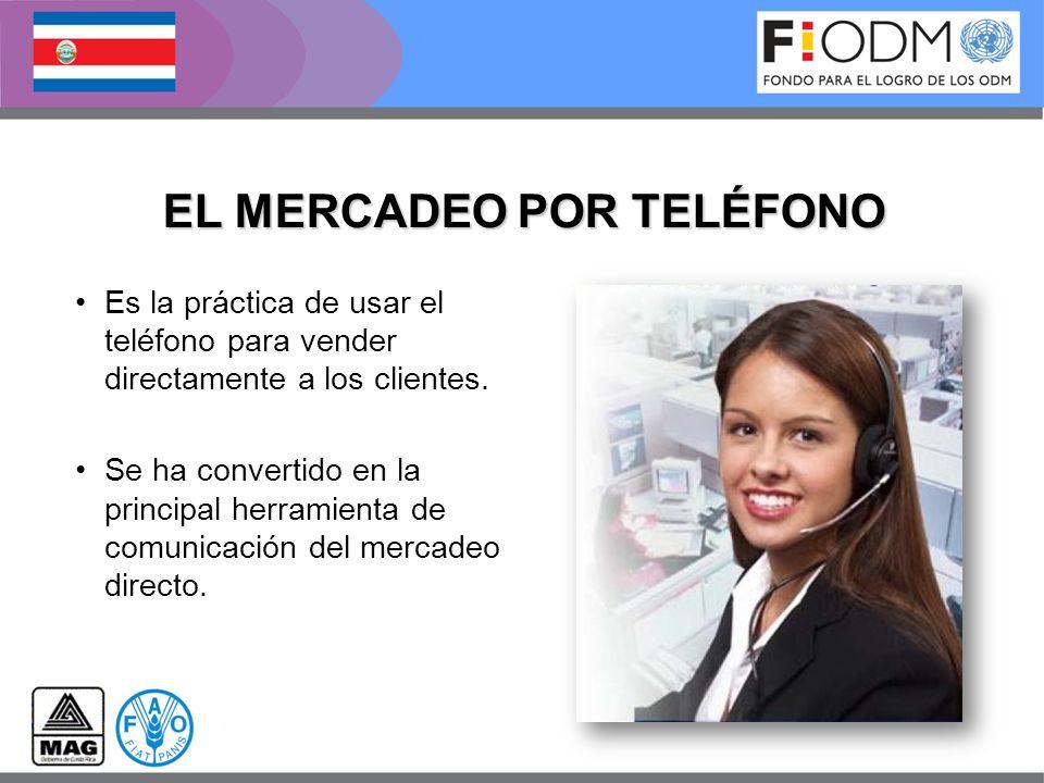 EL MERCADEO POR TELÉFONO