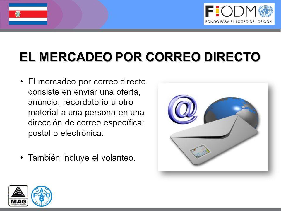 EL MERCADEO POR CORREO DIRECTO