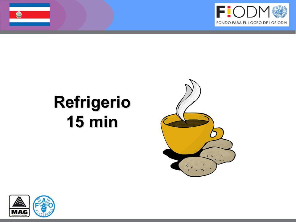Refrigerio 15 min