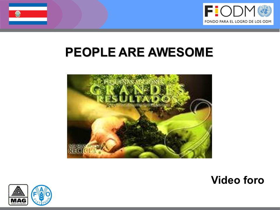 PEOPLE ARE AWESOME Video foro