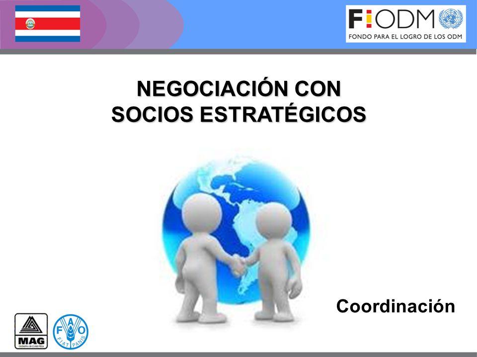 NEGOCIACIÓN CON SOCIOS ESTRATÉGICOS