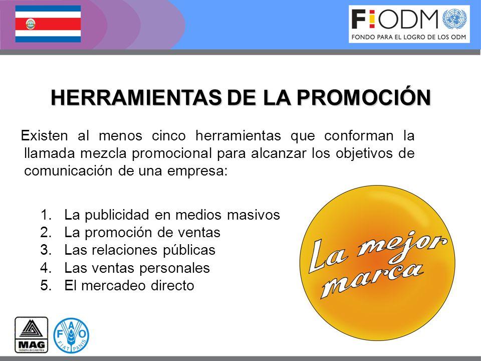 HERRAMIENTAS DE LA PROMOCIÓN