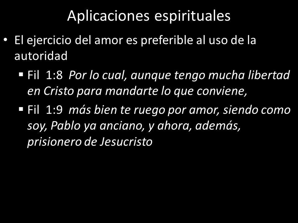 Aplicaciones espirituales