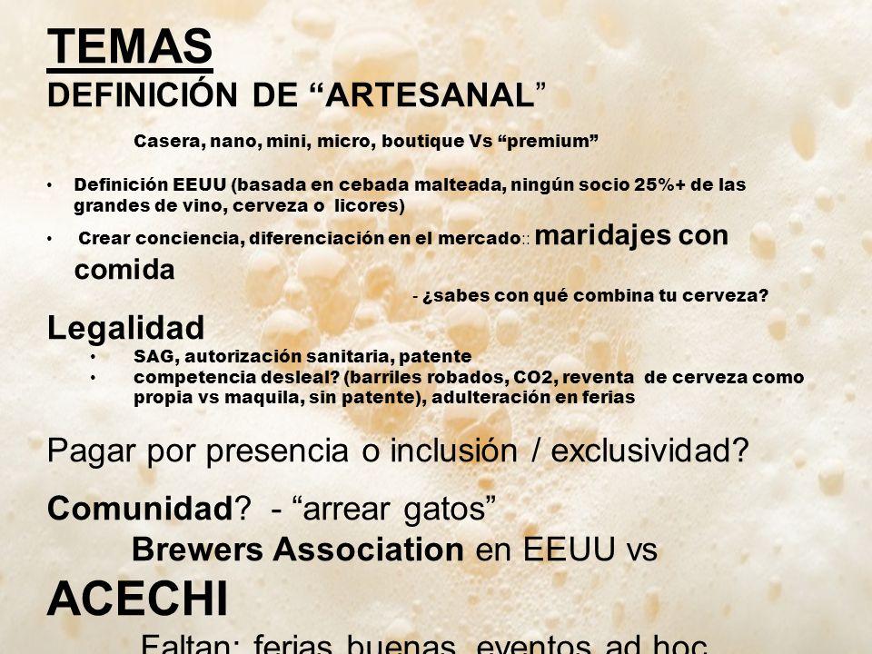 TEMAS DEFINICIÓN DE ARTESANAL