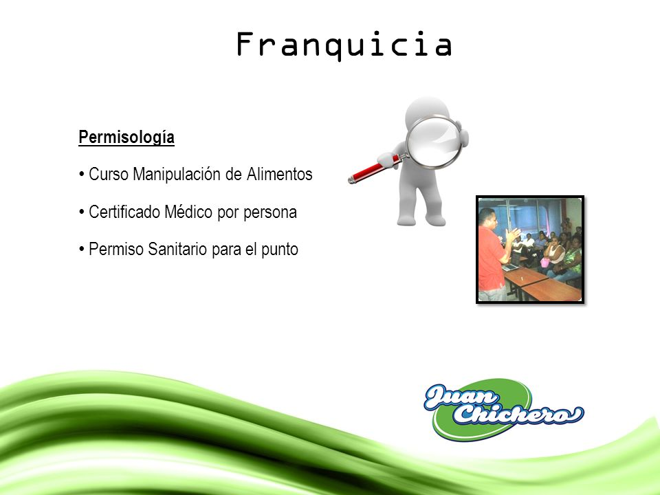 Franquicia Permisología Curso Manipulación de Alimentos