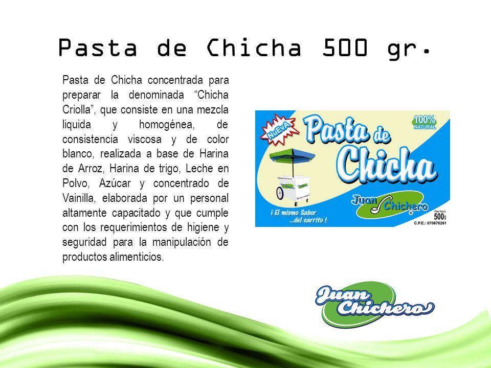 Pasta de Chicha 500 gr.