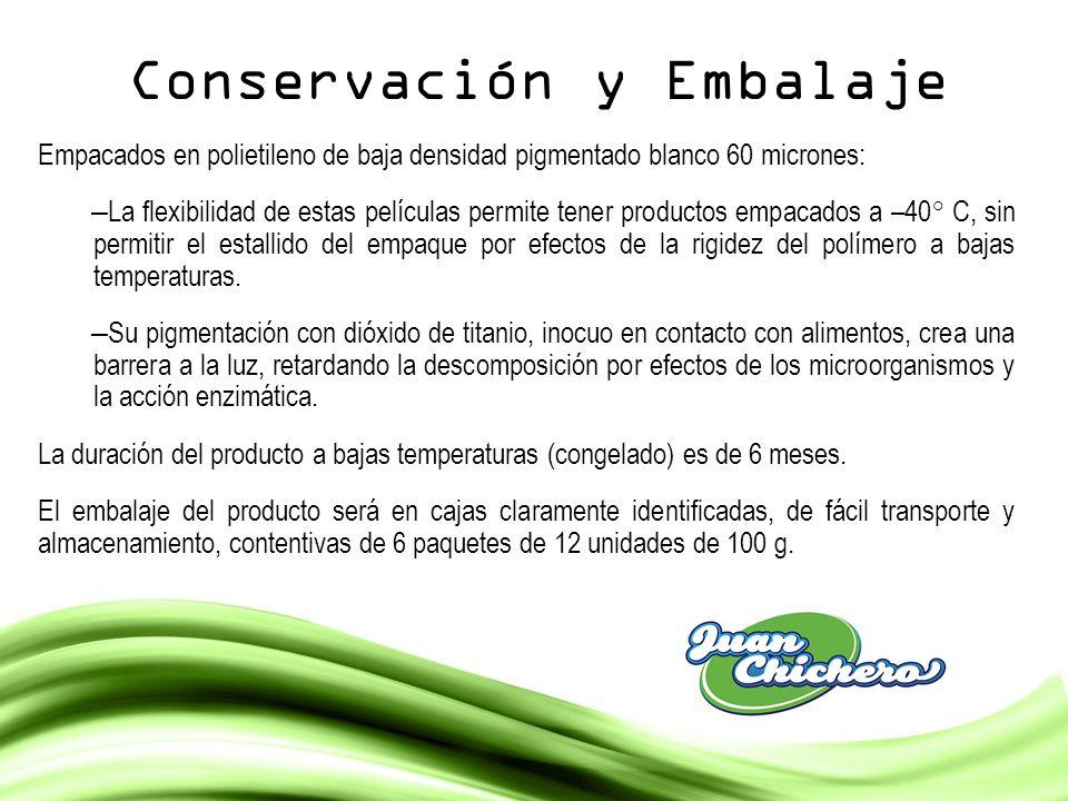 Conservación y Embalaje