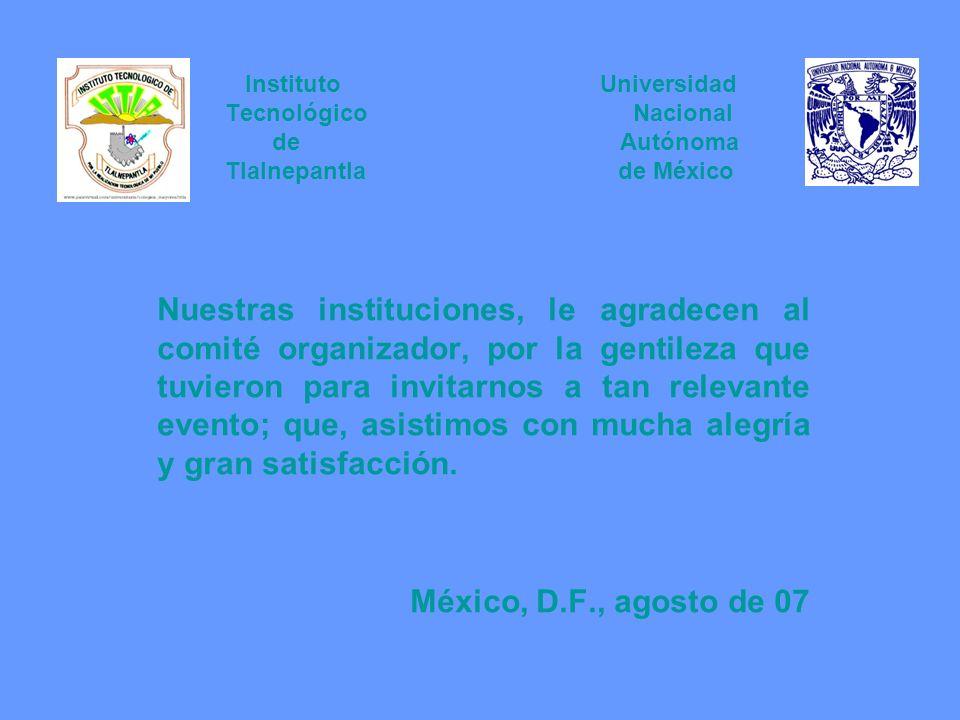 Instituto Universidad Tecnológico Nacional de Autónoma Tlalnepantla de México