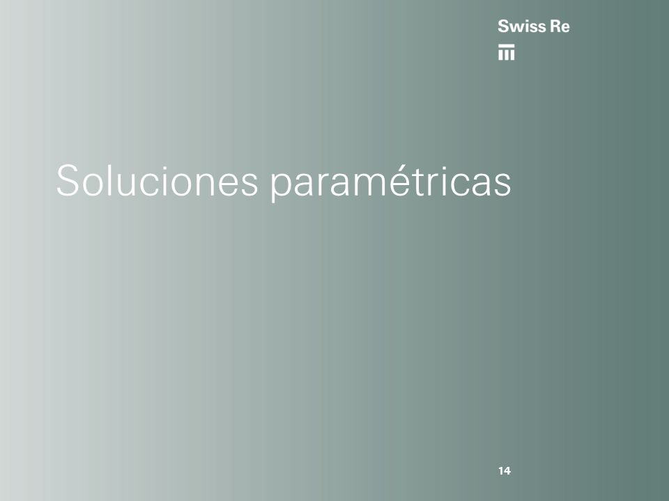 Soluciones paramétricas