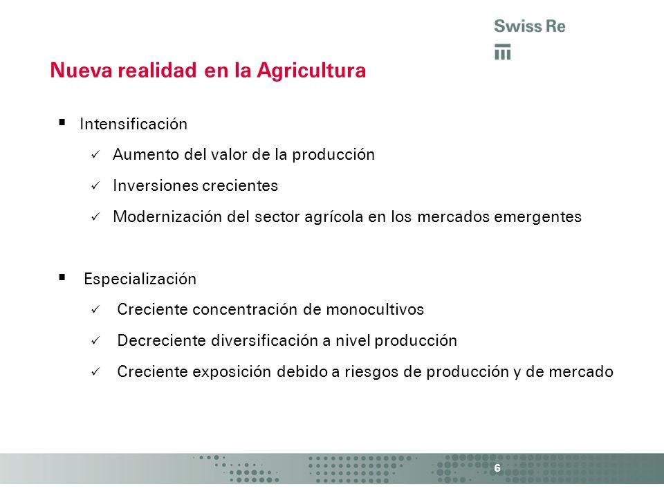 Nueva realidad en la Agricultura