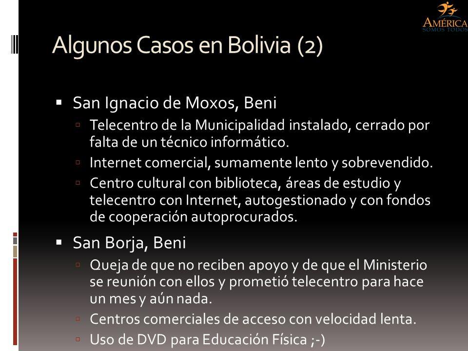 Algunos Casos en Bolivia (2)