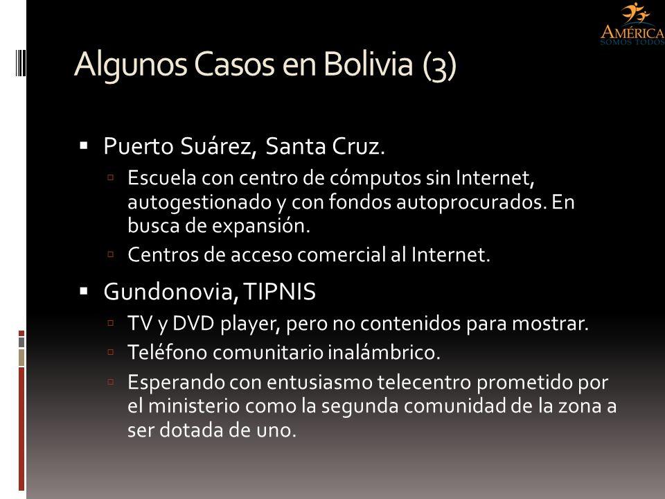 Algunos Casos en Bolivia (3)