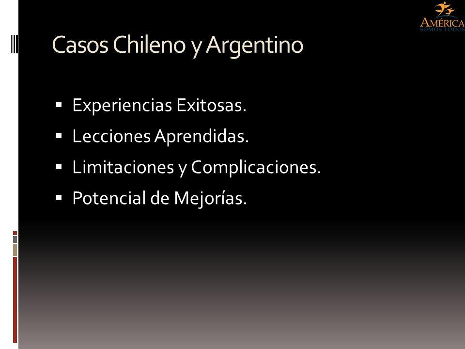 Casos Chileno y Argentino