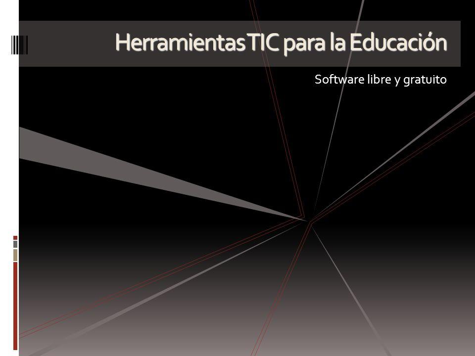 Herramientas TIC para la Educación