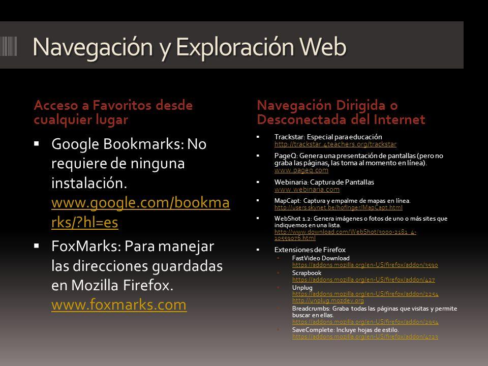 Navegación y Exploración Web