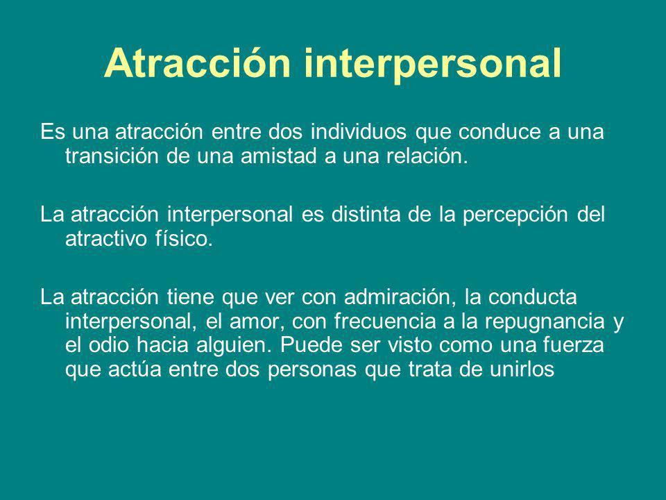 Atracción interpersonal